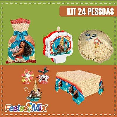 Kit Festa Moana- 24 Pessoas