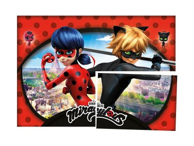 Painel 4 Folhas - Ladybug