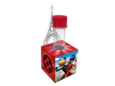 Porta Tubete Ladybug - Miraculos - 08 unidades