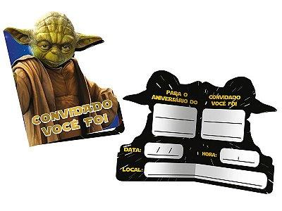 Convite - Star Wars Clássico - 08 unidades