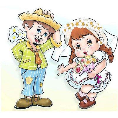 KIt Painel Noivo e Noiva