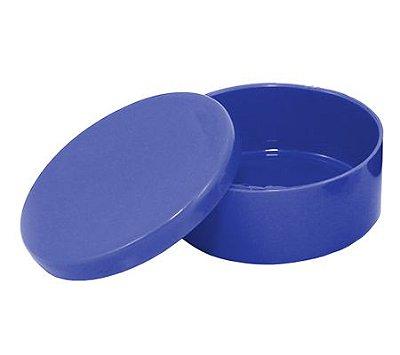 Latinha Plástica Azul Escuro - 10 unidades