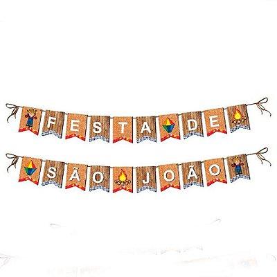 Kit Faixa Decorativa Festa de São João