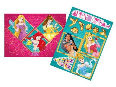 Kit Decorativo Princesas Amigas