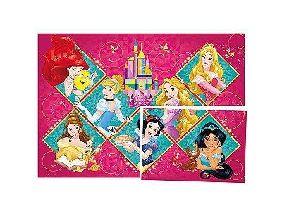 Painel 4 Folhas Decorativo Princesas Amigas