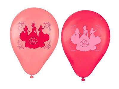 Balão de Festa da Princesa Amigas- 25 Unidades