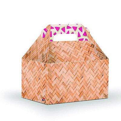 Caixa Surpresa Maleta Tropical Flamingo - 08 und