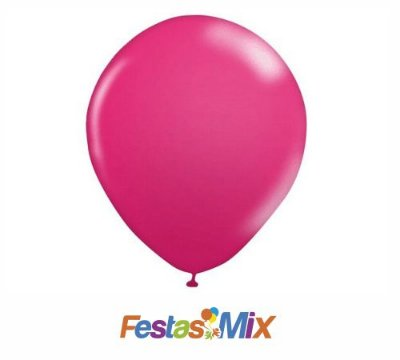Balão Látex N° 9 Polegadas Pink - 50 Unidades