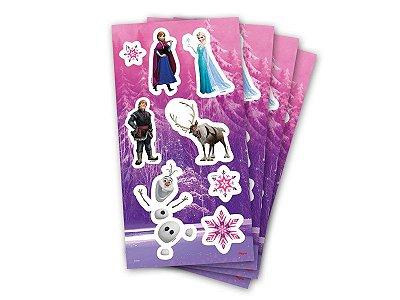 Adesivo para Lembrança - Frozen - 04 cartelas