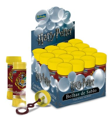 Bolha de Sabão Harry Potter - 1 Und