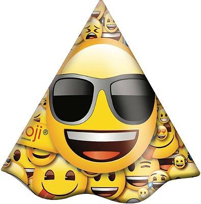Chapéu de Aniversário Emoji -08 unidades