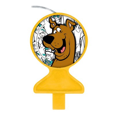 Vela de Aniversário Scooby Doo