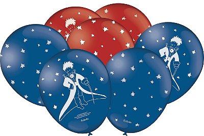 Balão Látex N°  9 Polegadas Pequeno Príncipe- 25 Unidades