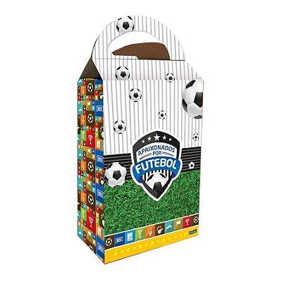 Caixa Surpresa - Apaixonados Por Futebol - 08 unidades