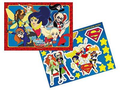 Kit Decorativo - Super Hero Girl