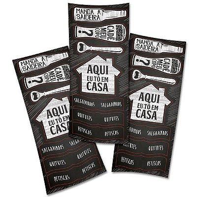 Adesivo para Lembrança Boteco - 3 cartelas