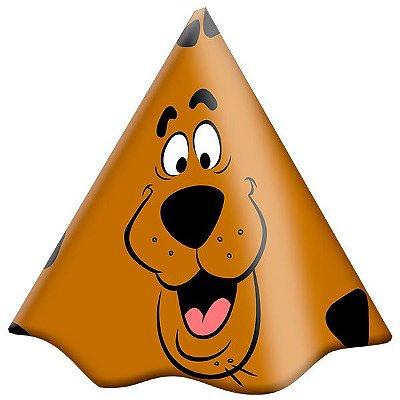 Chapéu de Aniversário Scooby Doo- 08 unidades