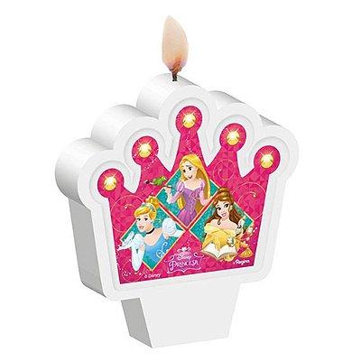 Vela de Aniversário Princesas
