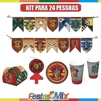 Kit Festa Básico 1 - 24 pessoas-  Festa Harry Potter