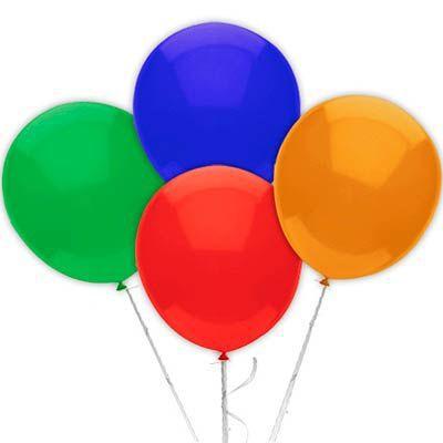 Balão Látex  N° 6,5  -Sortido - 50 und