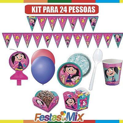 Kit Festa Infantil-  O Show da Luna- 24 pessoas