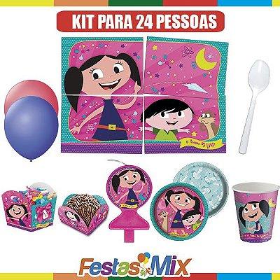 Kit Festa Infantil-  Show da Luna- 24 pessoas