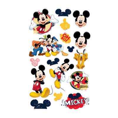 Mini Personagens - Mickey Mouse Clássico - 20 unidades