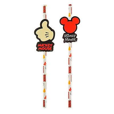 Canudo de Papel  - Mickey Mouse - 08 unidades