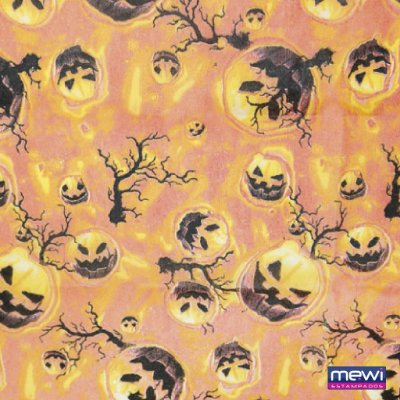 TNT Estampado Halloween - 1 metro