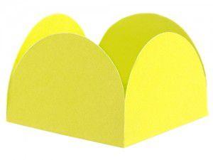 Porta Forminha para Doces - Amarelo - 40 unidades