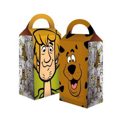Caixa Surpresa - Scooby Doo - 08 unidades