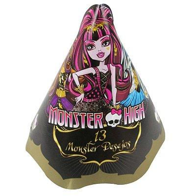 Chapéu de Aniversário Monster High - 08 Unidades