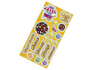 Lembrança Adesiva Candy Crush