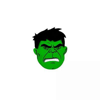Mini Carinhas EVA - Hulk - 06 unidades