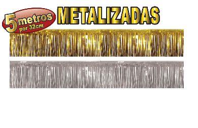 Franjas Metalizadas - 5 metros