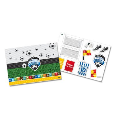 Kit Decorativo - Apaixonados Por Futebol