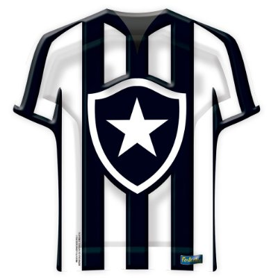 Bandeja Camisa - Botafogo