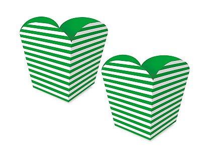Cachepot Pequeno - Festa Colors Verde - 08 unidades