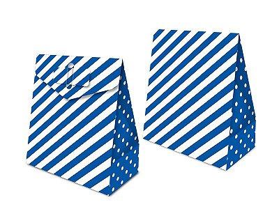 Caixa Surpresa - Festa Colors Azul - 08 unidades