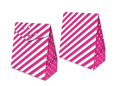 Caixa Surpresa - Festa Colors Rosa - 08 unidades