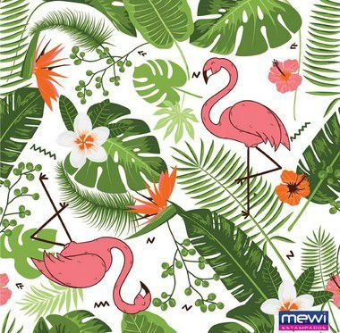 TNT Estampado Tropical - 1 metro