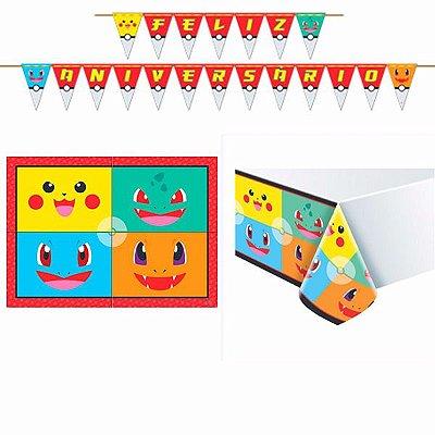 Kit Decoração de Festa - Pocket Monsters
