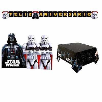 Kit Decoração de Festa - Star Wars