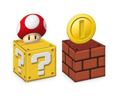 Caixa Cubo para Lembrancinhas-Super Mario Bros- 08 unidades