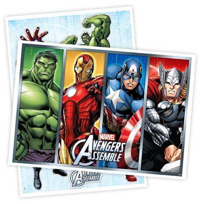Kit Decorativo Cartonado - Os Vingadores