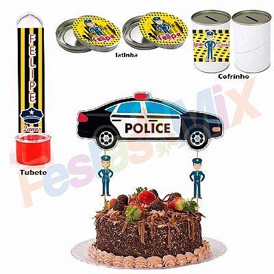 Kit Festa - Lembrancinha Personalizada - Polícia