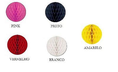 Bolas Decorativas - Diversas Cores - 10 polegadas