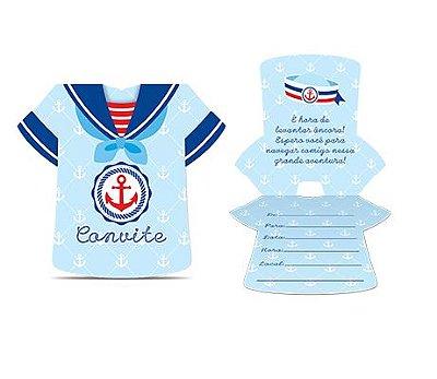 Kit Convite - Marinheiro - 03 pacotes