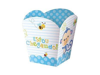 Kit Cachepot - Fisher Price Chá de Bebê Menino -02 pacotes