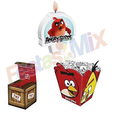 Kit Festa - Angry Birds